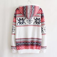 Jumpers Womens Fashion Women Snowflake Print Long Sleeve Pullover Knitted Sweater Female Christmas Sweaters ZHL6971