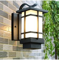 Antique Glass Porch Lights Country Style Led Outdoor Wall For Aisle Balcony Garden El Waterproof Lamp Fixtures Lamps