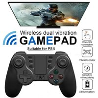 Game Controllers & Joysticks Wireless Gamepads For PS-4 4 Pro Slim PC Bluetooth Controller With 3D Accelerating Gyro Sensor Func