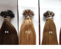 """100 Beads +100g 18"""" 20"""" 22"""" INDIAN Remy Human MICRO NANO RINGS Tip Human Hair Extensions DHL Fast Shipping"""