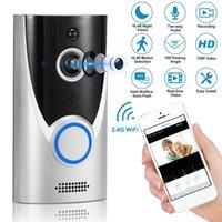 M16 WiFi Doorbell Impermeable Video Smart Video Door Chime 720P InterComero inalámbrico Alarma de Abeto IR Visión nocturna IP Cámara IP