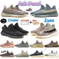 2020 Kanye Solma Siyah Statik Yansıtıcı Koşu Ayakkabıları Israfil Karbon Kilit Çöl Adaçayı Dünya Yekeil Zebra Kadın Erkek Trainer Sneakers