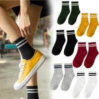 Fashion Ankle Striped Cotton Blend Women Girls Sport Casual Sock Hosiery Soft Short Socks Street Style