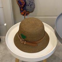 مصممون دلو قبعة أعلى جودة الفاخرة مصمم القش القبعات رجل الرجال الصيف القبعات النساء فضي مصممين قبعة أزياء قبعة إمرأة 2105127Y