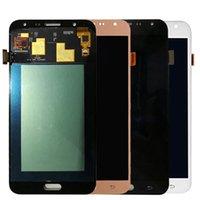 YYX Samsung Galaxy J7 J700 için En Kaliteli Telefon Ekran Panelleri J7008 J700F J700H J700M J700P J700T LCD Ekran Digitizer Değiştirme Meclisi Çerçeve ile