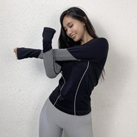 Gym Clothing Autumn And Winter Sports Top Women's Loose-Fit Quick-Dry T-shirt Long-Sleeve Yoga Clothes Hooded Running Blouse