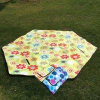 Portable Pocket Camping Mat Folding Waterproof Sleeping Outdoor Ultralight Picknick Blanket BG50CM Pads