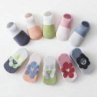 Calcetines recién nacidos Botines Baby Pierna Calentadores Chicas Algodón Accesorios Accesorios Para Niños Summer Zapatos de Piso Niños Niño Use B6221