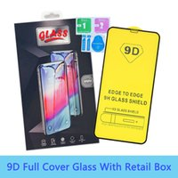 9D Full Cover Tempered Glass Phone Screen Protector For iPhone 12 mini 11 Pro Max XR X XS 8 7 6 plus Samsung S21 A22 A32 A42 A52 A72 A12