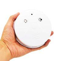 Batterie Wifi Fire Fumée / Dangereuse Détection de gaz Alarme CCTV Home Sécurité Vidéo Surveillance Mini Network Caméras de caméra IP Caméras