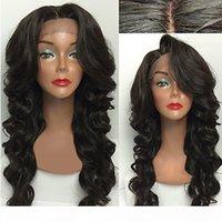 Venda superior 1b # 2 # 2 # 6 # onda profunda preta longa perucas onduladas de alta qualidade resistentes a calor perucas sintéticas de renda sintética para mulheres negras