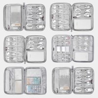 Storage Bags Travel Digital Bag USB Data Cable Organizer Earphone Wire Power Bank Kit Case Pouch Electronics Accessories