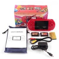 새로운 16 비트 핸드 헬드 게임 콘솔 휴대용 비디오 게임 200+ 게임 레트로 Megadrive PXP3