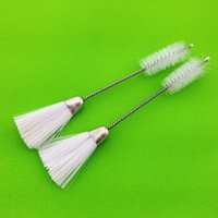 1Pcs Cleaning Brush Double Head Single Head Multi-function Dust Elimination Sewing Machine Supplies For Household Metal Fiber Notions & Tool