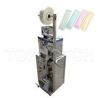 1-50g Automatic Tea Bag Weighing And Sealing Machine For Granules Bean Sugar Salt Powder Packer