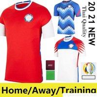 Chili 2021 Copa America Soccer Jerseys Alexis Vidal Vargas Medel 20/21 Pinares Camiseta de Fútbol National Teamhome Away Training Football