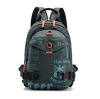 Outdoor Men's Chest Bag Multifunctional Fashion Backpack Waterproof Nylon Cloth Shoulder Messenger Bags