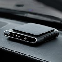 Car Air Freshener Purifier Solar Powered Negative Ion Vehicle Portable Dust Smell Remove Cleaner Auto Accessories