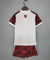 Flamengo Club Soccer Jersey 2021 2022 البرازيل Kit Home Third Diego Vinicius JR Camisa Mengo Gabriel B رجل قميص أطفال مجموعة كرة القدم