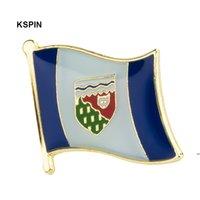 Yeni kurdu bayrağı yaka pin bayrak rozeti yaka pins rozetleri broş FWD8198