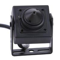 В 1 AHD TVI CVI CVBS 2MP Mini CCTV Камера Безопасность 1080P Дверь Гифольная система сканирования NTSC 525LINES 60Field / SEC IP Cameras