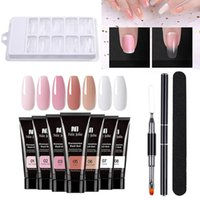 Nail Art Kits Extension Builder Gel Kit Uv Tools For Quick Tip Poly Crystal Acryl