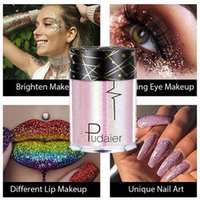 Göz Farı Parlak Ray Holografik Sequins Glitter Pırıltılı Pigment Dövme Dudak Tırnak Vücut Festivali Parti Makyaj Tozu