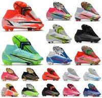 2021 Superfly 8 VIII 360 Elite FG Soccer Shoes Xiv Dragonfly CR7 Ronaldo Impulse Pack MDS 04 14 Sonho Velocidade 4 Mens Mulheres Meninos High Football Botas US3-11