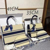 2021 SS Mujeres Moda Bolsos de Moda Cartas de Arte Luxury Cosmética Compuesto Bolsas Bolsos Paquete Paquete Abrir Libro Tote Handbags919
