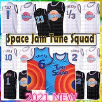 23 1 Bugs Space Movie Space Tune Squad Lebron 6 James Basketball Jersey 2021 Jeunesse Blue 22 Bill Murray 10 Lola D.Duck! Taz 1/3 Tweety