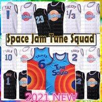 23 1 Errores Cine Space Jam Tune Squad Lebron 6 James Basketball Jersey 2021 Juventud Mens Blue 22 Bill Murray 10 Lola D.Duck! Taz 1/3 Tweety