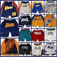 Altın devletSavaşçılarJersey Basketbol Şort Sadece Don Cep Şort ChicagoBoğa bostonKeltics20 DetroitPiston