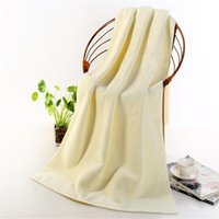 Towel Egyptian Cotton Beach Terry Bath Towels Bathroom 70*140cm 650g Thick Luxury Solid For SPA Adults