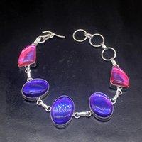 Link, Chain Gemstonefactory Jewelry Big Promotion Single Unique 925 Silver Fashion Mystical Topaz Lady Women Charm Bracelet 23cm 20213330