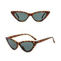 Outdoor Eyewear Vintage Sexy Cat Eye Retro Sunglasses Men Small Cateye Sun Glasses Female Shades Ladies Trending Streetwear UV400 Oculos