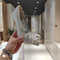 Designer Luxury JC Patent Leather Open Toe Pumps Heel Heels Pump Dress Shoes With Original box