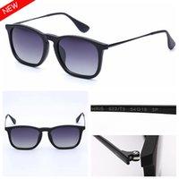 망 선글라스 패션 선글라스 편광 된 선글라스 Eyeware Des Lunettes 드 Soleil Tortoise 블랙 프레임 가죽 케이스