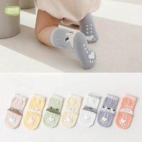 Kids Socks Baby Boys Accessories Cotton Animal Cartoon Girls Booties Spring Summer First Walker Shoes 0-3Y B5177
