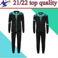 2021 Napoli Tracksuit Giacca con cappuccio Jersey Soccer Jersey Zielinski 20/21 SSC Napoli Long Zipper Jacket Set Veste Vestito