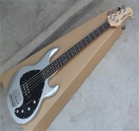 Wholesale Musicman Music Man Hombre Stingray 5 Electric Bass Guitar 9 V Battery Pickups Iniciativa para recoger