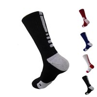 2 stücke = 1pair USA Professionelle Elite Basketball Socken Langes Knie Athletic Sport Socken Männer Mode Kompression Thermal Winter Socken Großhandel