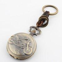 Llaveros punk de vapor antiguo bronce motocicleta llavero cadena motor patrón reloj de bolsillo llavero moda lindo amante regalo