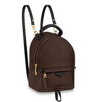 Mini mochila para mujer Bolso de la escuela Mujeres Ladies Mochilas casuales Bolsos Totes Zipper Purseleshigh Calidad 25x8x27cm 4 Color