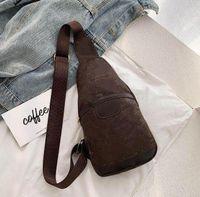 رجل فاخر مصمم حقائب جلدية crossbody الاتجاه حقيبة الصدر الصليب الجسم محفظة جلد البقر الكلاسيكية حقيبة الظهر للرجال