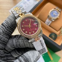 Mens Watch Automatic Mechanical Watches Case With Diamonds Stainless Steel 31mm Ladiy Wristwatches Montre de Luxe Top Quality
