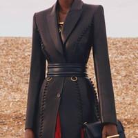 Belts Light Gold Double Pin Buckle Cowhide Wide-waist Wrapper Women's Blazer With Decorative Waist Belt