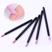 5 PCS Scrub Cuticle Remover Pen Nail Nail File Set Quartz Stone Polish Pusher Trimmer Tool para clavos Art Manicure Tool Kit