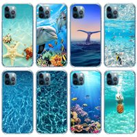 Ocean Scenery Tpu Soft Shell New Animal Sea Fish Phone Cases For Iphone 11 12 13 Pro Max X Xr Xs 8 7 Plus High Quality Shockproof Cover
