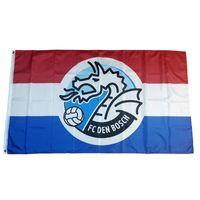 Flag of Netherlands Football Club FC Den Bosch 3*5ft (90cm*150cm) Polyester flags Banner decoration flying home & garden Festive gifts