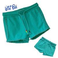 Shorts Baby Girl Pants Summer Kids Clothing For Girls Designer Child Fashion Ruffle Cover Tassel PP 3-24Months
